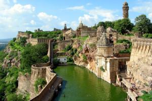 Форт Читторгарх в Индии