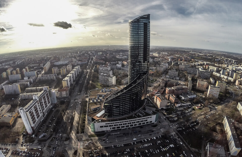 Sky Tower, Вроцлав