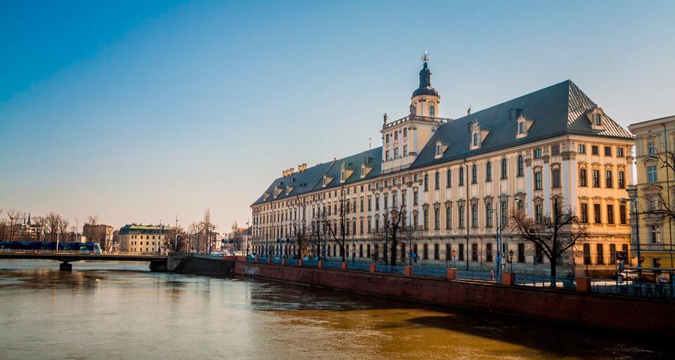 Вроцлавский университет, Вроцлав