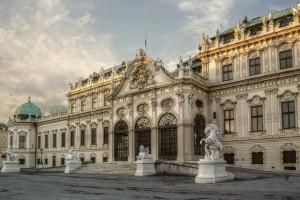 Замок Бельведер в Вене