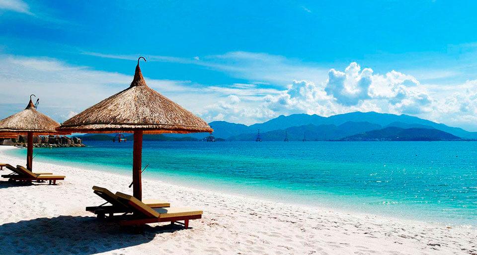 Фото красивых пляжей вьетнама