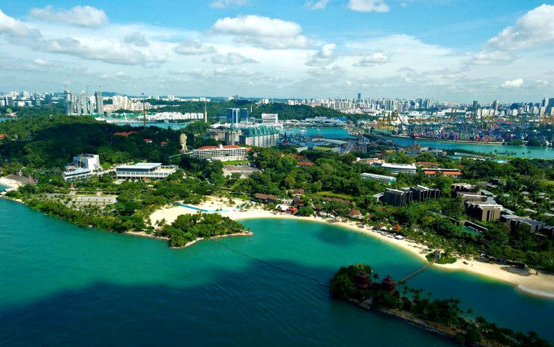 Остров, Сентоза, Сингапуре, Сингапур