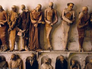 Катакомбы Капуцинов в Палермо – итальянский город мертвецов