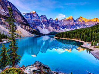 Озеро Луиза в Канаде