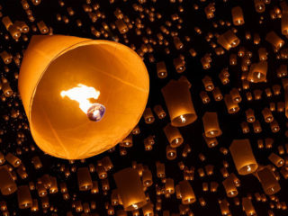 Торжество, посвященное небесным фонарикам, пройдёт в Малайзии