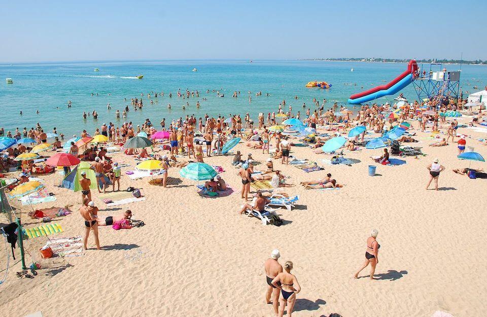 Пляж Солярис, Евпатория