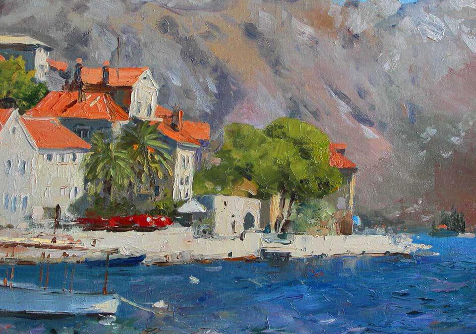 Картины, Черногория