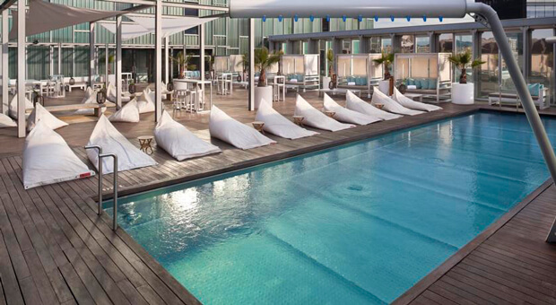 Отель The Level at Melia Barcelona Sky