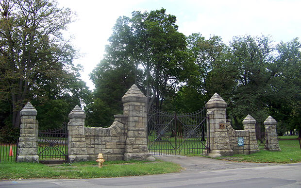 Кладбище Вудлон (Woodlawn Cemetery)