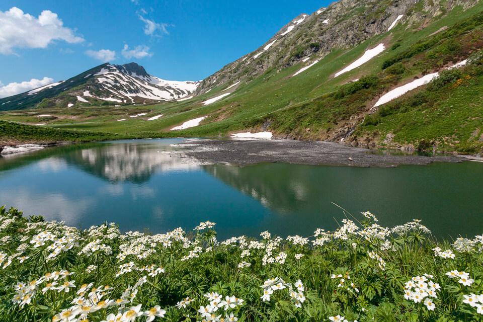 Озерная долина Дзитаку