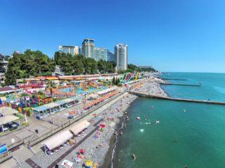 Отели Сочи всё включено со своим пляжем