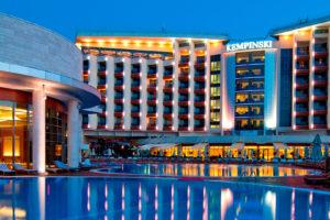 Отели в Геленджике всё включено со своим пляжем и бассейном