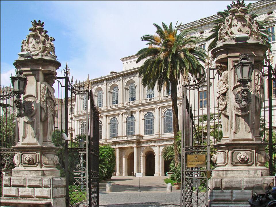 Дворец Барберини, Рим