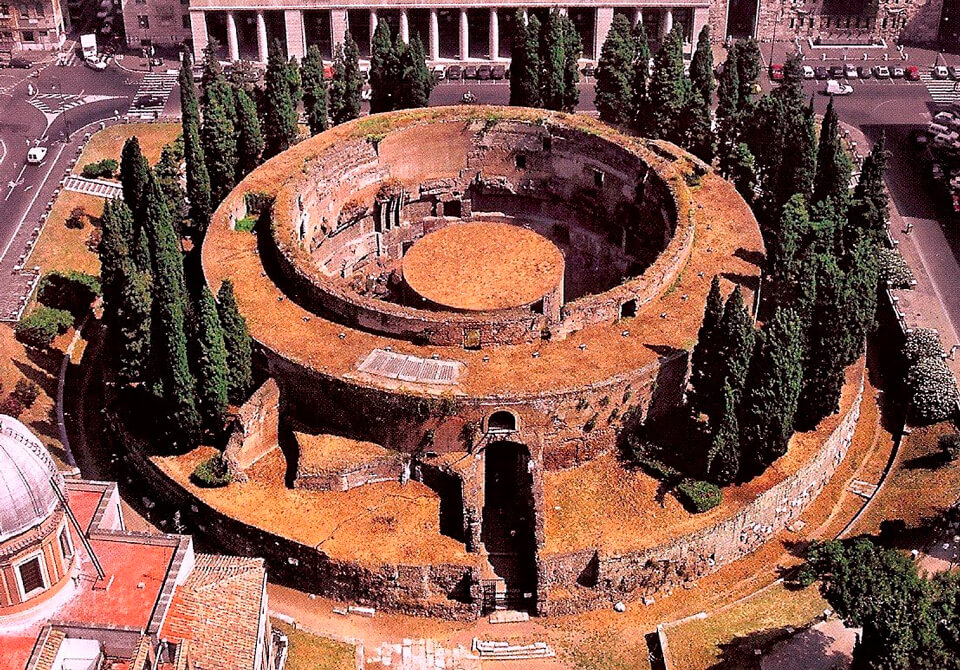 Мавзолей Августа, Рим