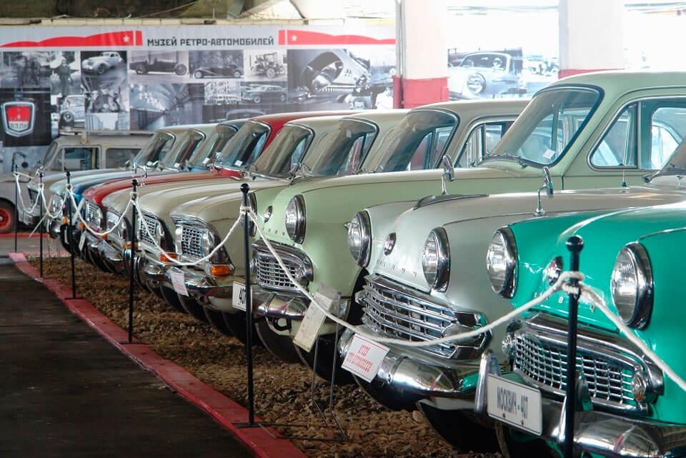 Музей ретро-автомобилей на Рогожском валу, Москва