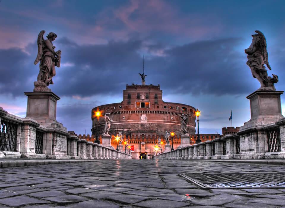 Замок Сант᾽Анджело, Рим