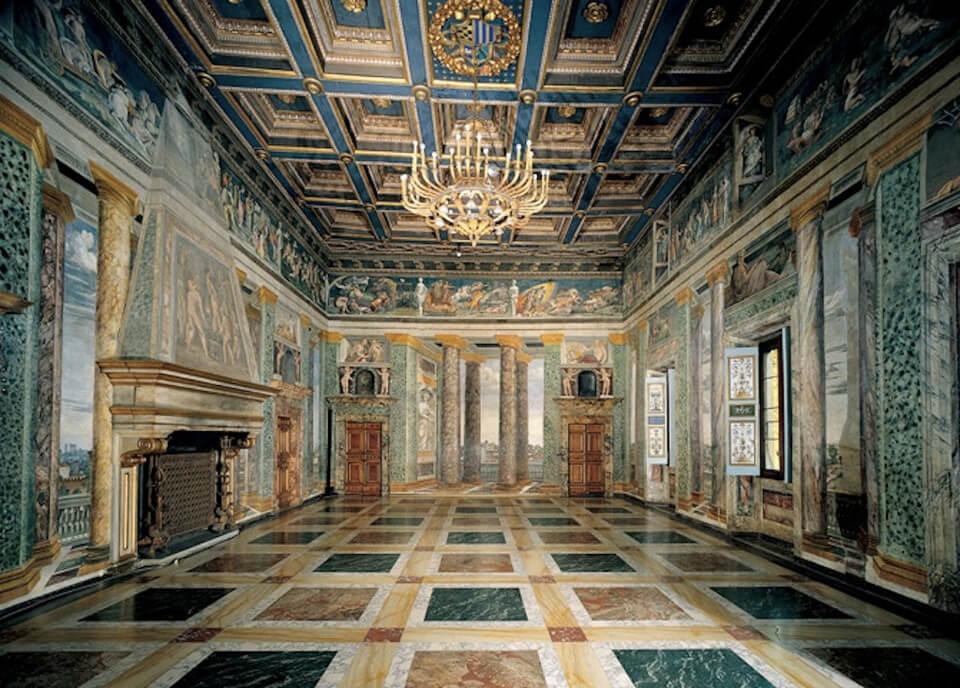 Вилла Фарнезина, Рим