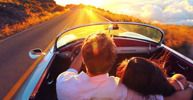 Во сне ехать на машине с любимым