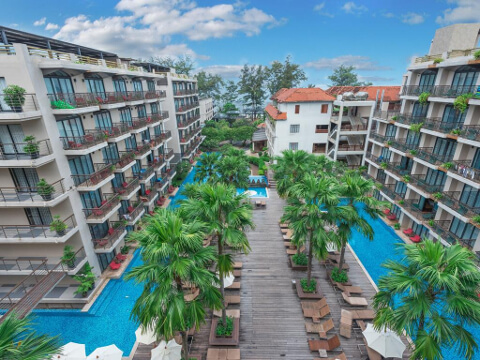 Baan Laimai Beach Resort 4*, Пхукет