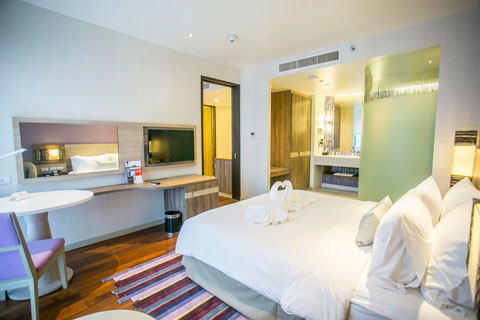Holiday Inn Express Phuket Patong Beach Central 3*, Пхукет