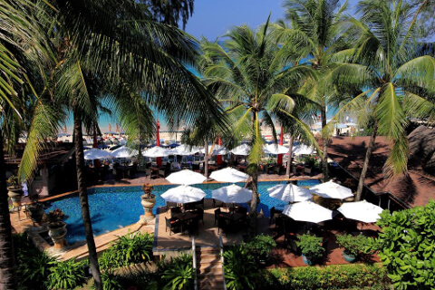 Kata Beach Resort 4*, Пхукет