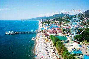 Отдых в Лазаревском — в частном секторе, санаториях и пансионатах