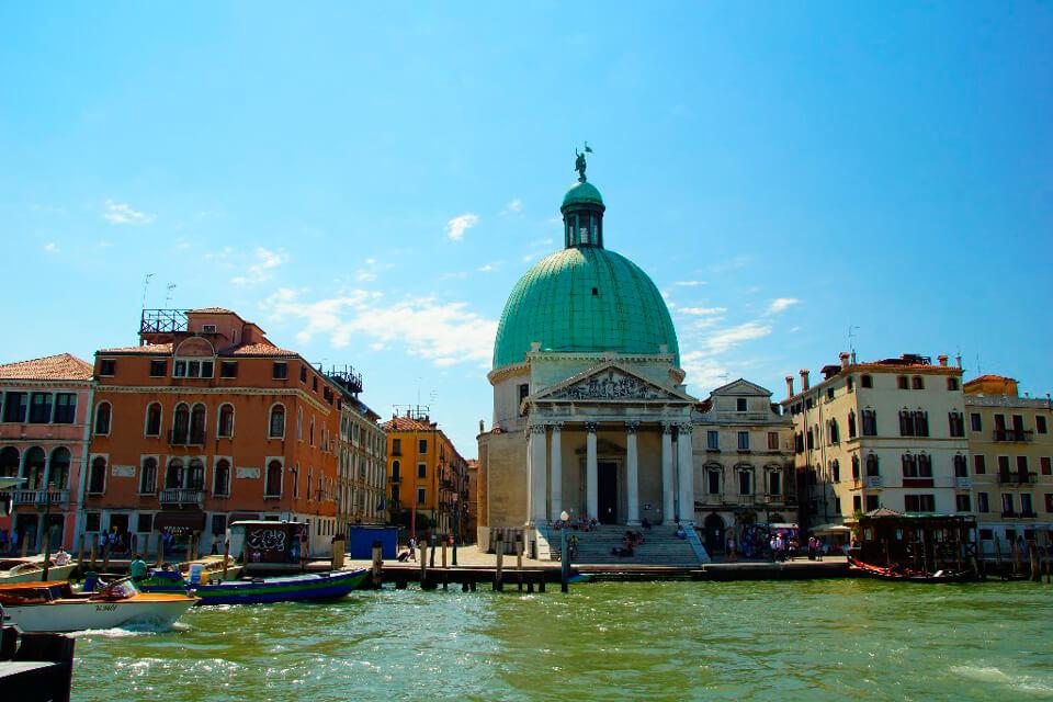 Церковь Сан-Симеоне Пикколо, Венеция