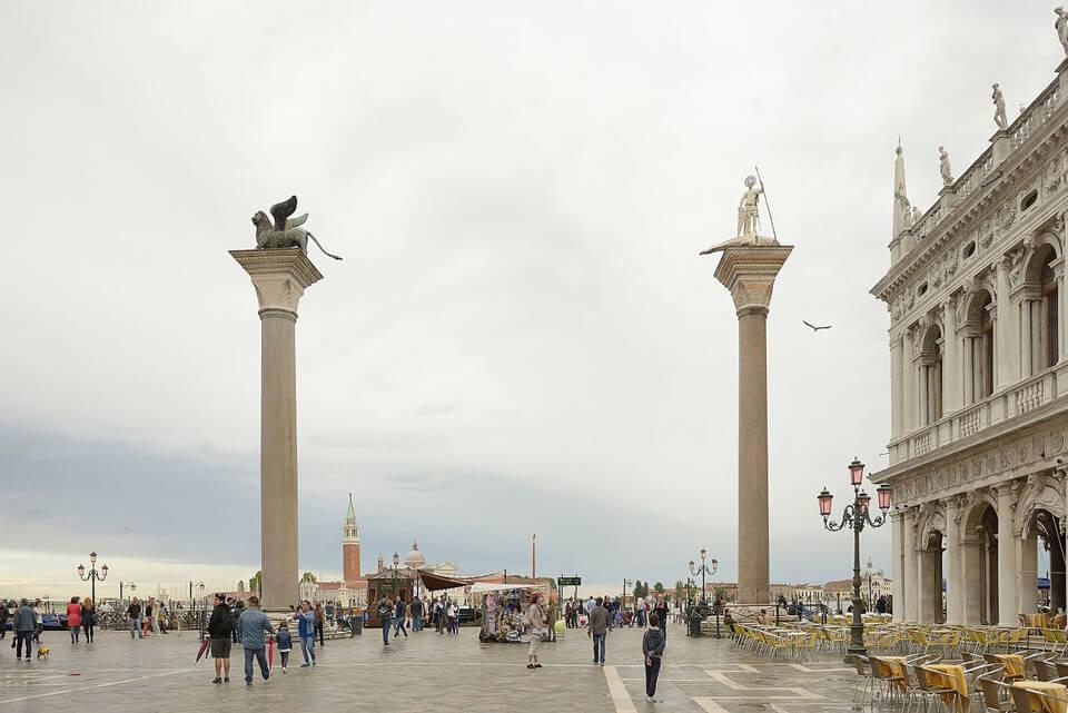 Колонны Святых Марка и Теодора, Венеция