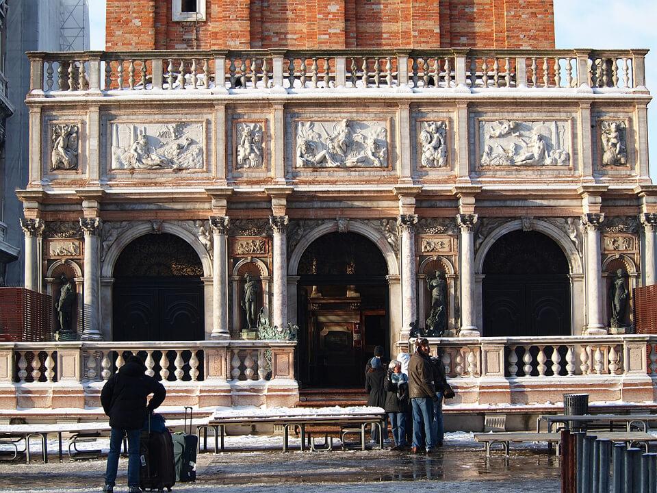 Лоджетта Сансовино, Венеция