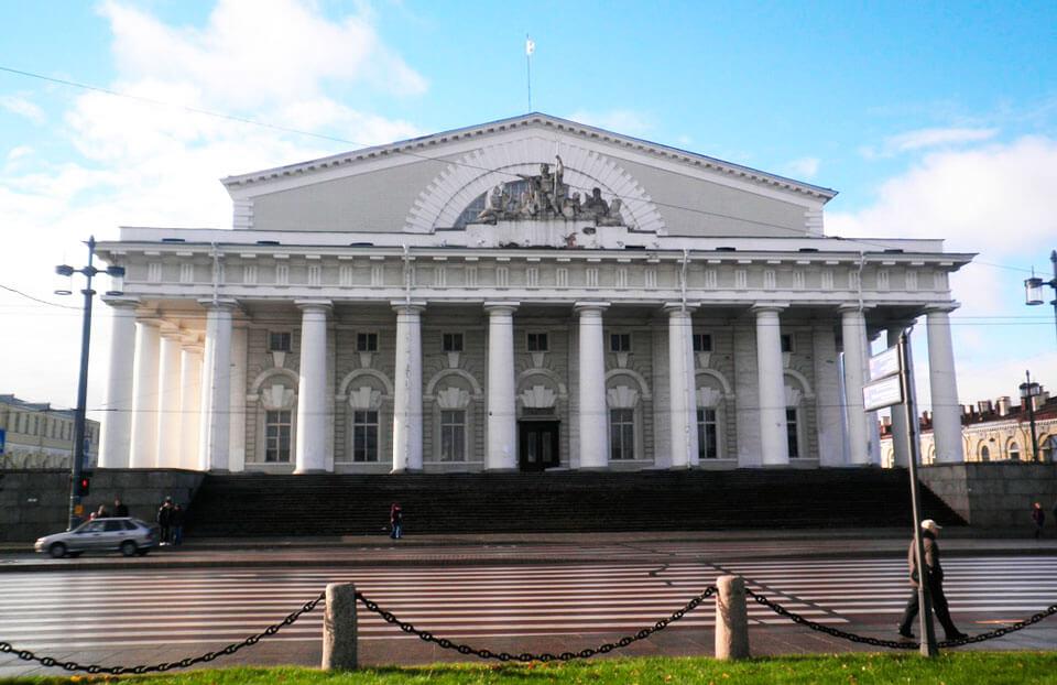 Здание Биржи, Санкт-Петербург