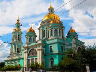 Богоявленский Елоховский собор в Москве