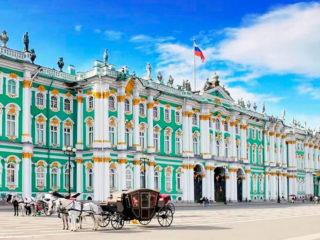 Зимний дворец Петра I в Санкт-Петербурге