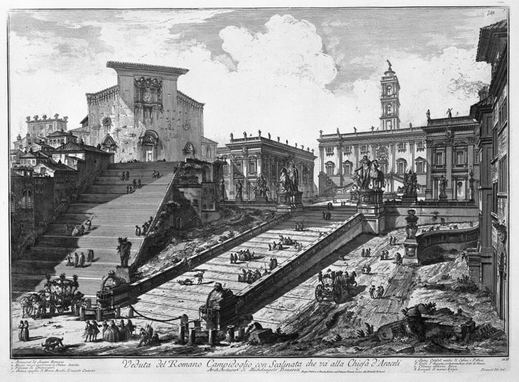 Возрождение Капитолия, Рим