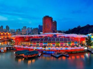 Набережная Кларк Ки в Сингапуре