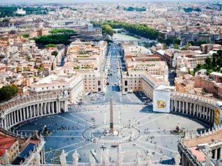 Площадь Святого Петра – одна из самых красивых площадей в мире