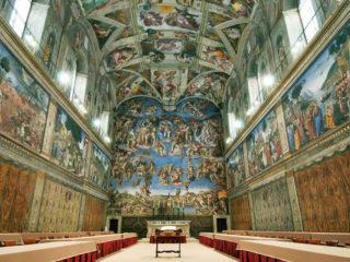 Станцы Рафаэля в музее Ватикана