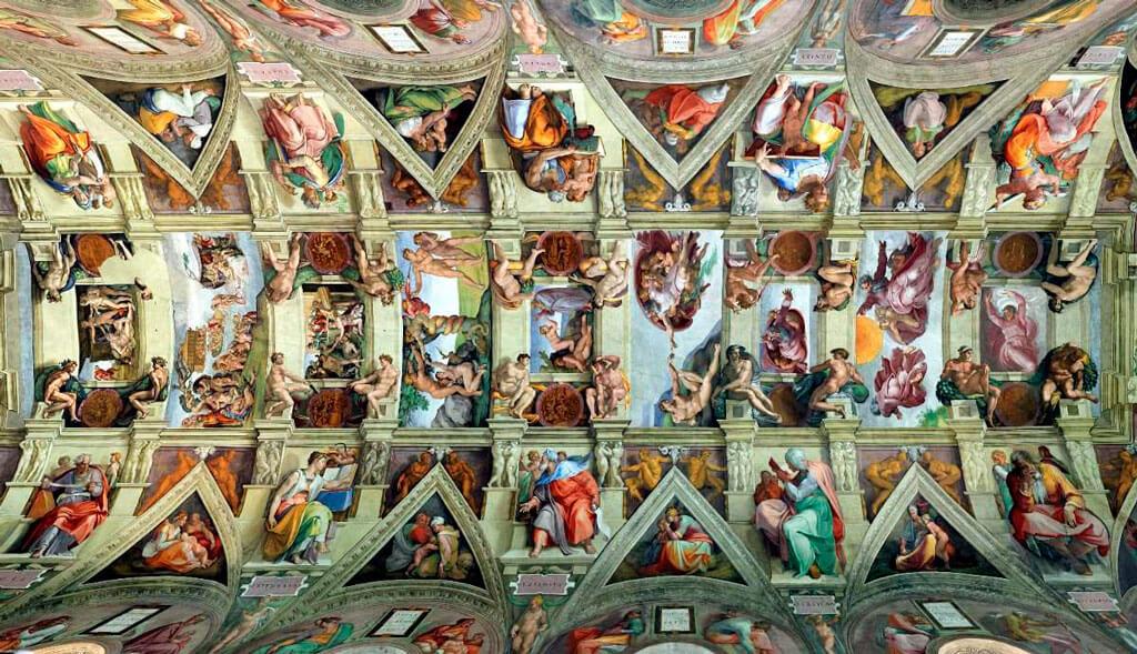 Потолок Сикстинской капеллы, Рим