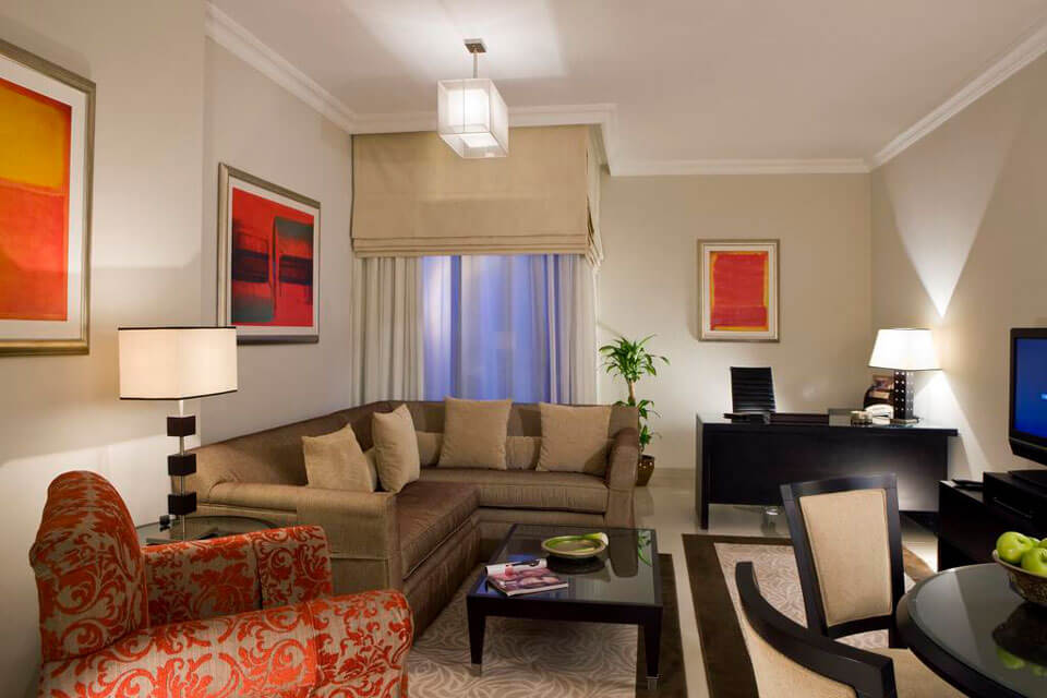 Mercure Dubai Barsha Heights Hotel Suites 4*, Дубай