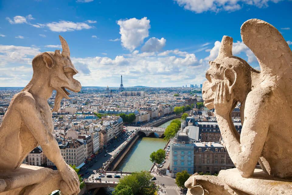 Гаргульи собора Парижской Богоматери, Париж