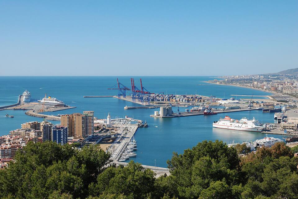 Круизный порт Малага