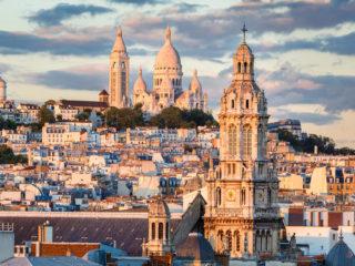 Монмартр – один из самых живописных районов Парижа
