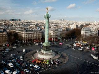 Площадь Бастилии в Париже – символ французской свободы