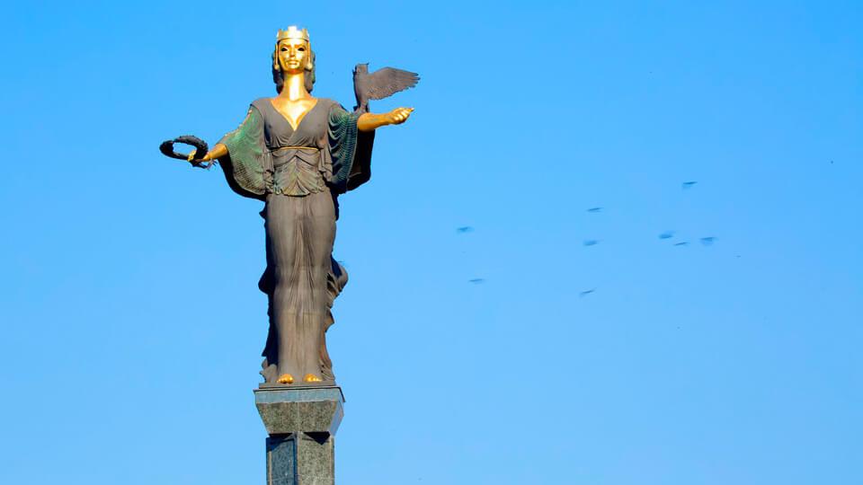 Статуя Святой Софии, София, Болгария София София Statue of Hagia Sophia