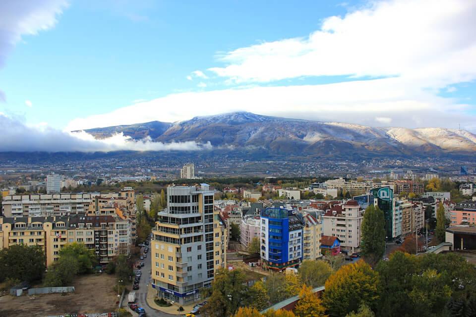 Горный массив Витоша, София, Болгария София София Vitosha mountain range
