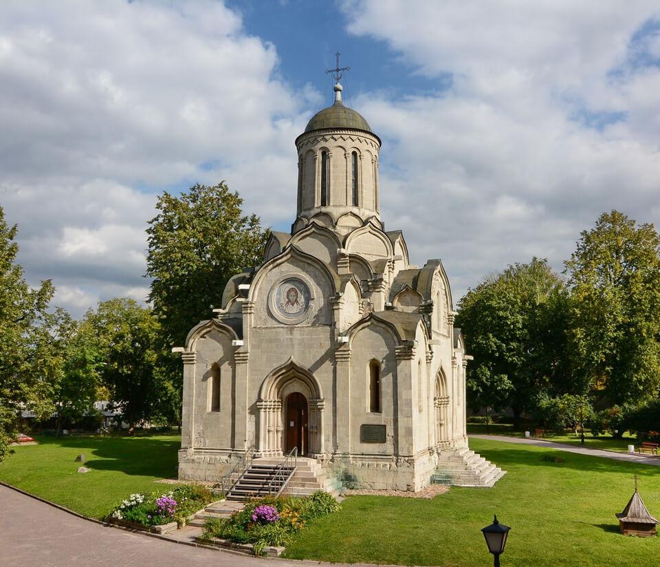 Андроников монастырь и Спасский собор, Москва