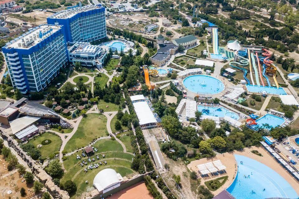 Aquamarine Resort & SPA 5*, Севастополь