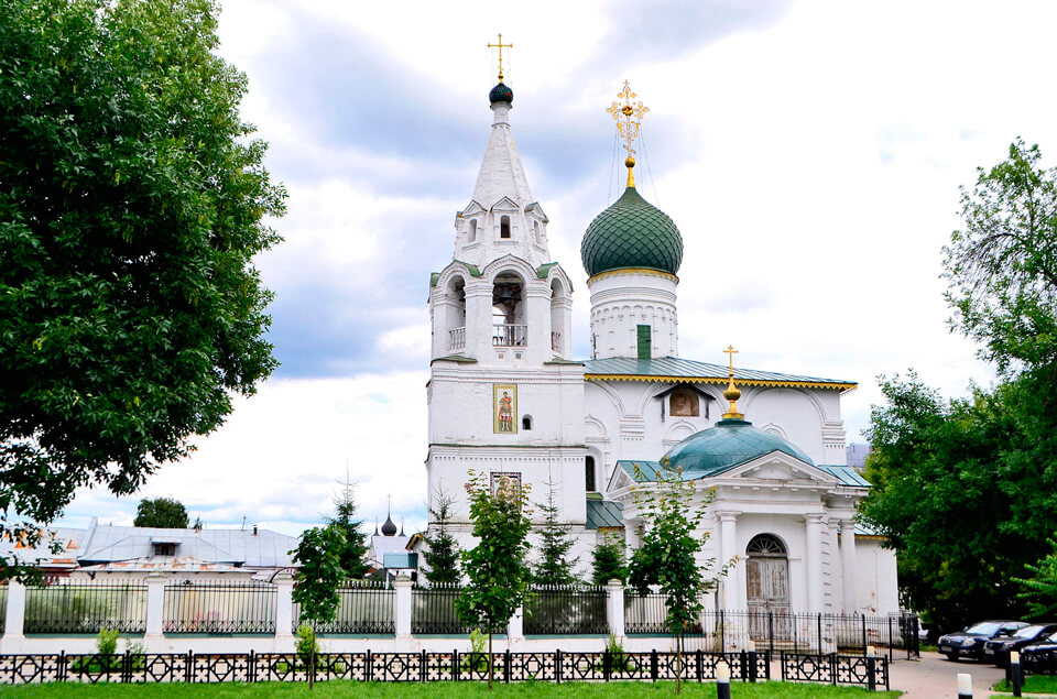 Церковь Дмитрия Солунского, Ярославль