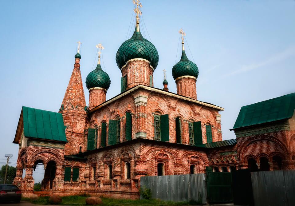 Церковь Иоанна Златоуста, Ярославль