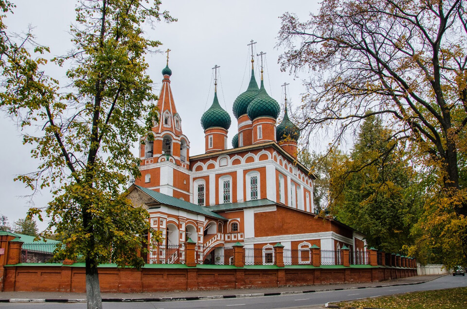 Церковь Михаила Архангела, Ярославль