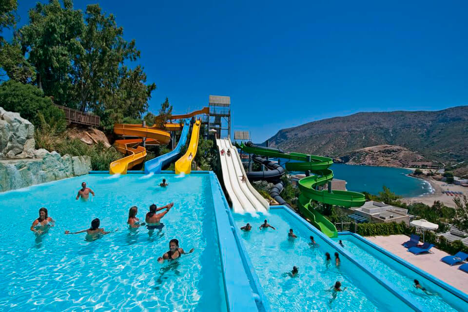 Fodele Beach Water Park Resort 5*, Греция